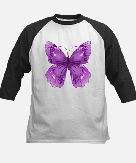 Awareness Butterfly Baseball Jersey