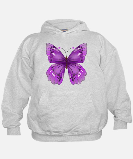 Awareness Butterfly Hoodie