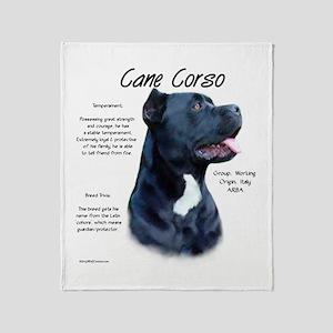Cane Corso Throw Blanket