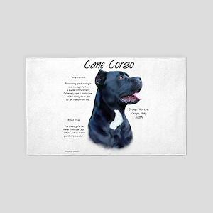 Cane Corso Area Rug