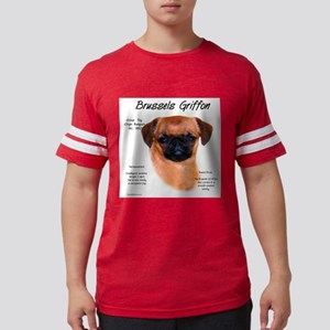 Brussels Griffon (smooth) Mens Football Shirt