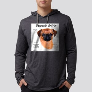 Brussels Griffon (smooth) Mens Hooded Shirt