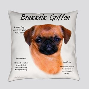 Brussels Griffon (smooth) Everyday Pillow
