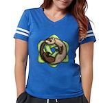 Ouroboros Womens Football Shirt T-Shirt