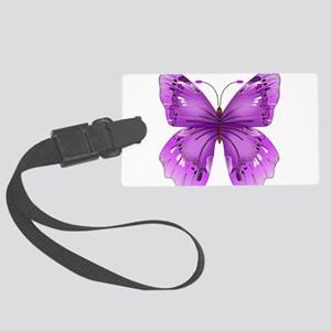 Awareness Butterfly Luggage Tag