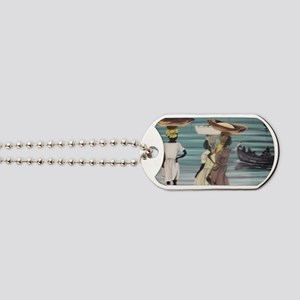 Girls Selling by the Shore Dog Tags
