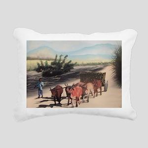Bef Pote Kann Rectangular Canvas Pillow