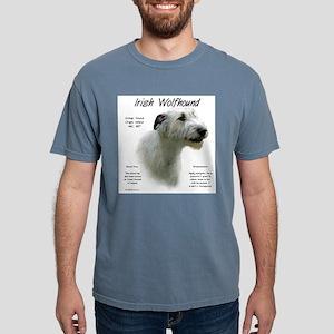 Irish Wolfhound (white) Mens Comfort Colors Shirt