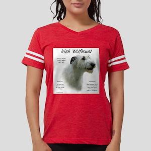 Irish Wolfhound (white) Womens Football Shirt