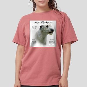 Irish Wolfhound (white Womens Comfort Colors Shirt