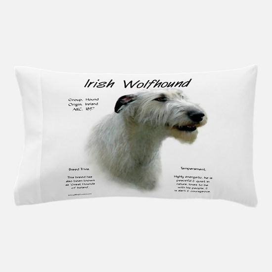 Irish Wolfhound (white) Pillow Case