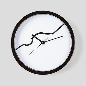 Double-Bass-16-a Wall Clock