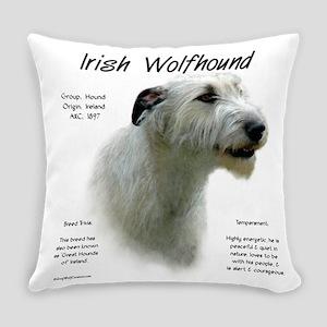 Irish Wolfhound (white) Everyday Pillow