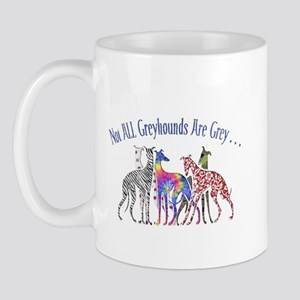 Greyhounds Not Grey Mug