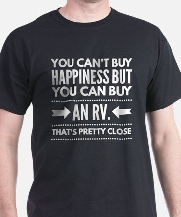 Happiness is buying an RV T-Shirt