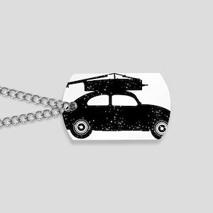 Double-Bass-On-Car-01-a Dog Tags