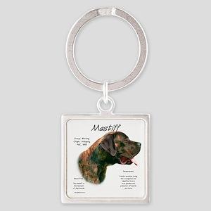 Mastiff (apricot brindle) Square Keychain