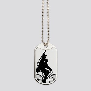 Double-Bass-On-Bicycle-02-a Dog Tags