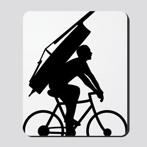 Double-Bass-On-Bicycle-01-a Mousepad