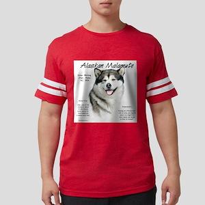Alaskan Malamute Mens Football Shirt