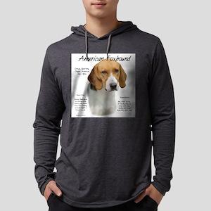 American Foxhound Mens Hooded Shirt