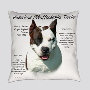 AmStaff Terrier Everyday Pillow