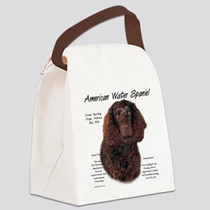 American Water Spaniel Canvas Lunch Bag