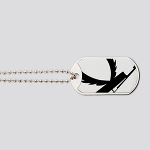Flying-Double-Bass-01-a Dog Tags
