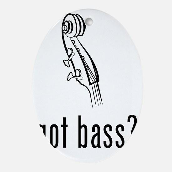 Got-Bass-03-a Oval Ornament