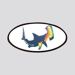 hammerhead color swoosh Patch