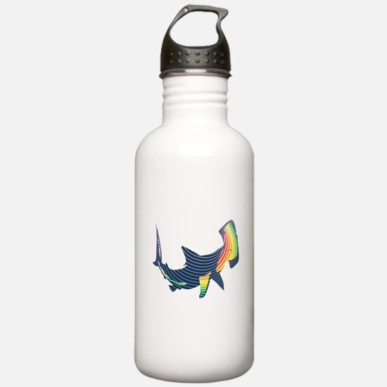 hammerhead color swoosh Water Bottle