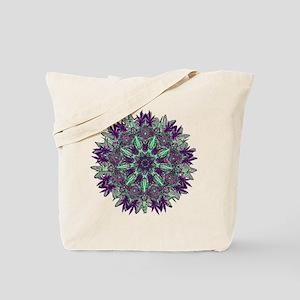 CANNABIS Leaf II PURPLE Tote Bag