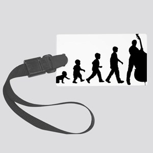 Evolution-Man-04-a Large Luggage Tag