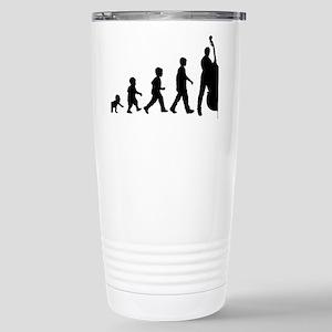 Evolution-Man-04-a Stainless Steel Travel Mug