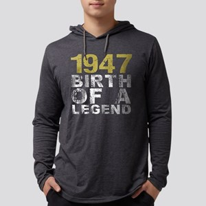 1947 Birth Of A Legend Long Sleeve T-Shirt
