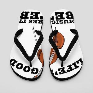 Lifes-Good-01 Flip Flops