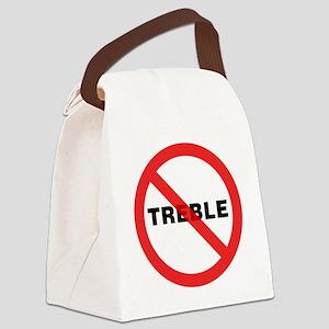 No-Treble-01-a Canvas Lunch Bag