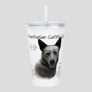 Cattle Dog (blue) Acrylic Double-wall Tumbler