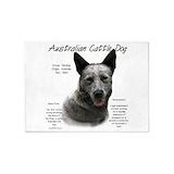 Australian cattle dog blue heeler 5x7 Rugs
