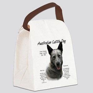 Cattle Dog (blue) Canvas Lunch Bag