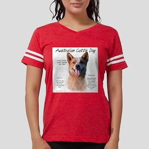 Cattle Dog (red) Womens Football Shirt