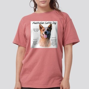 Cattle Dog (red) Womens Comfort Colors Shirt