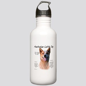 Cattle Dog (red) Stainless Water Bottle 1.0L