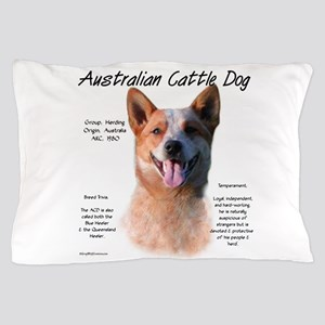Cattle Dog (red) Pillow Case