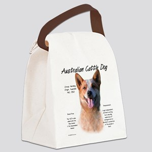 Cattle Dog (red) Canvas Lunch Bag