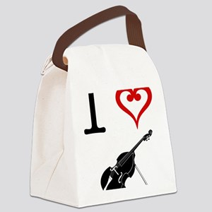 I-Heart-Double-Bass-01-a Canvas Lunch Bag