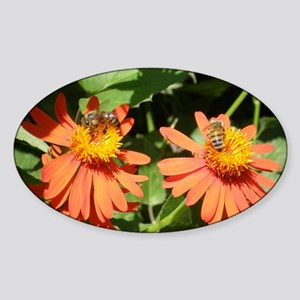 Busy Bees Sticker (Oval)