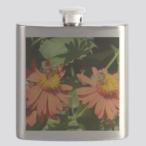 Busy Bees Flask