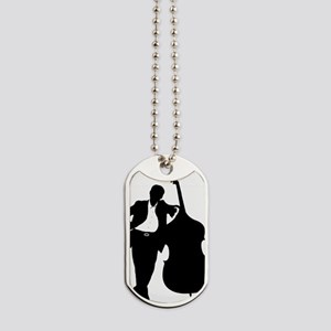 Man-With-Double-Bass-01-a Dog Tags
