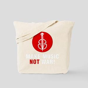 Make-Music-Not-War-02-b Tote Bag